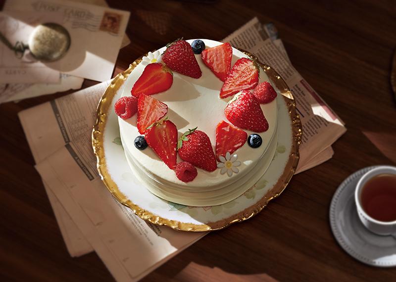 结婚纪念日蛋糕图片_草莓奶油蛋糕,6-10寸【图片/价格/评价/网上预订】 - 壹点壹客